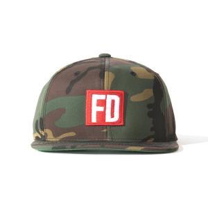 FD ウッドランド・カモ キャップ|fdj