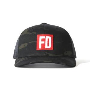 FD マルチカム・ブラック メッシュ・キャップ|fdj