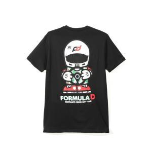 FD キャラクター Tシャツ/黒|fdj