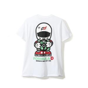 FD キャラクター Tシャツ/白|fdj