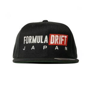 FORMULA DRIFT JAPAN 黒 キャップ|fdj
