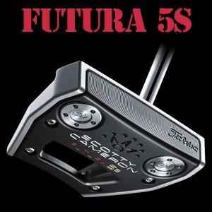 タイトリスト スコッティキャメロン 17 Futura(フューチュラ) 5S パター(日本正規品)|feap