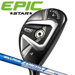 キャロウェイ EPIC STAR(エピック・スター) ユーティリティ N.S.PRO Zelos 7 Hybridスチールシャフト(日本正規品) feap