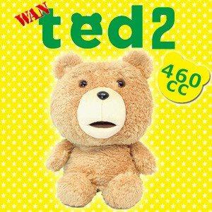キャラクターヘッドカバー ted2 テッド2 ドライバー用(460cc対応) H-308|feap