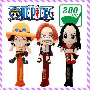 キャラクターヘッドカバー ONE PIECE GOLF(ワンピースゴルフ) フェアウェイ用ヘッドカバー(280cc対応)★|feap
