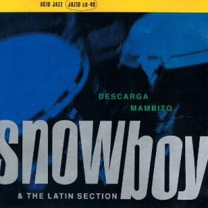 【中古CD】Snowboy&The Latin Section『Descarga Mambito』(輸入盤)
