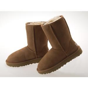 [アグ] UGG AUSTRALIA WOMENS CLASSIC SHORT II BOOTS ウィメンズ クラシック ショート 2 ブーツ シープスキン CHESTNUT #1016223-che|fedes