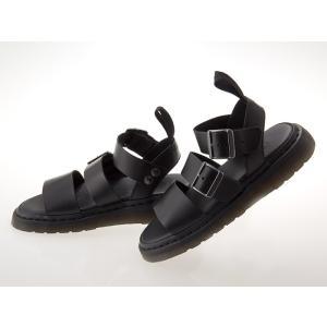 [ドクターマーチン] Dr.Martens GRYPHON STRAP SANDAL グリフォン ストラップ サンダル グラディエーター メンズ・レディースサイズ BLACK ブラック 黒 #1569500
