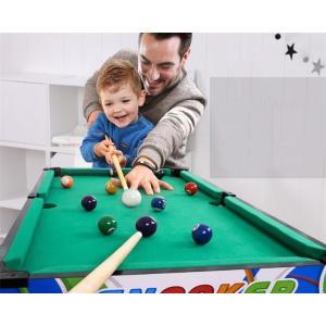 2月下旬発送予定 家庭用ビッグサイズ ビリヤードテーブル 8-15歳子供用室内ビリヤード台 レジャースポーツ 80*43*60cm TG422