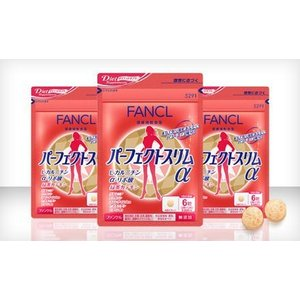 ファンケル FANCL パーフェクトスリムα 約90日分(徳用3袋セット) 1袋(180粒)×3|feel-one