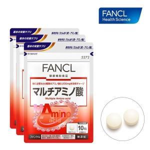 ファンケル FANCL マルチアミノ酸 約90日分(徳用3袋セット) 1袋(300粒)×3|feel-one