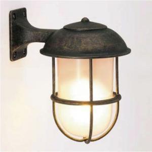 真鍮製ガーデンライトBR5000 AN FR LE(LED・くもりガラスタイプ)700233[L-5...