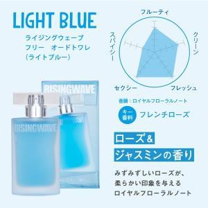 送料無料 ライジングウェーブ フリー ライトブルー EDT SP 50ml 【もれなくサンプル付き♪】  feel 02