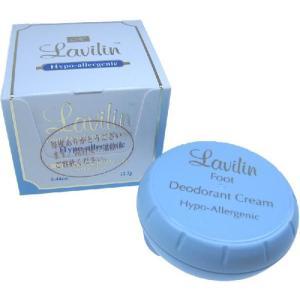 ラヴィリン[LAVILIN]医薬部外品デオドラントクリームフォーフット アシ用12.5g|feel