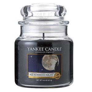 ヤンキーキャンドル[YANKEE CANDLE]ジャーMミッドサマーナイト411g|feel