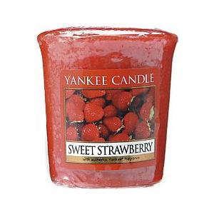 ヤンキーキャンドル[YANKEE CANDLE]サンプラースイートストロベリー49g|feel