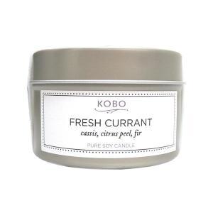 コボ[KOBO]ピュアソイキャンドルボタニカルフレッシュカラント113g|feel