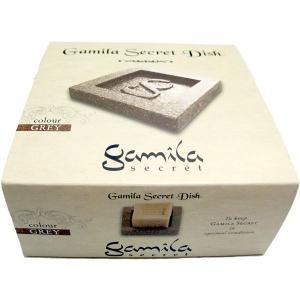 ガミラシークレット Gamila Secret ソープ ディッシュ グレー|feel