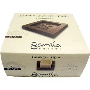 ガミラシークレット Gamila Secret ソープ ディッシュ ブラック|feel