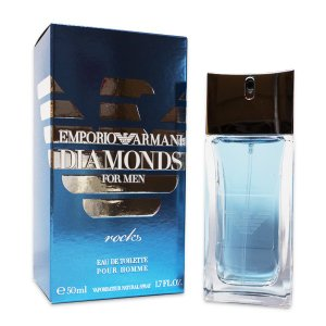 送料無料 エンポリオ アルマーニ ダイアモンズ ロック フォーメン EDT SP 50ml  EMPORIO ARMANI 香水 メンズ フレグランス|feel