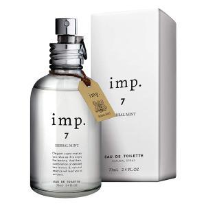 送料無料 インプ imp.7 ハーバルミント フレグランス EDT 70ml imp. ポイント5倍 香水 ユニセックス フレグランス|feel