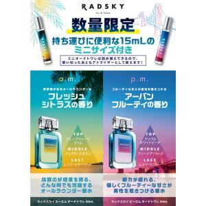 ラッドスカイ ピーエム pm コフレセット EDT SP 50ml + パーススプレー EDT 15ml RADSKY 香水 メンズ フレグランス|feel|03