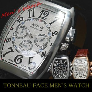 腕時計 メンズ ウォッチ トノータイプ革ベルトウォッチ腕時計ビザン数字od