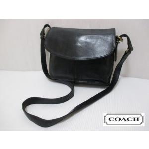 COACH/コーチ 本革 レザー ショルダー バッグ ブラック No B8D-9807|feeling-mellow