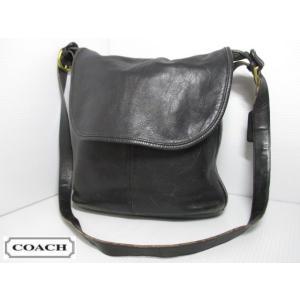 COACH/コーチ 本革 レザー ショルダー バッグ ブラック No 36C-4115|feeling-mellow