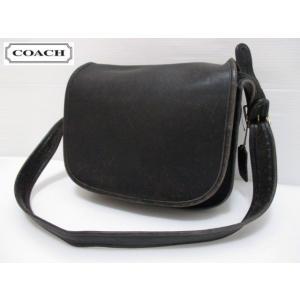 COACH/コーチ 本革 レザー ショルダー バッグ ブラック No 492-9331 Made in U.S.A|feeling-mellow