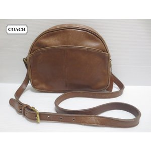 CCOACH/コーチ 本革 レザー ショルダー バッグ ブラウン No 0666-938 Made in U.S.A【OLD COACH/オールドコーチ】【CLASSIC COACH/クラシックコーチ】|feeling-mellow