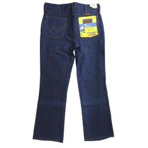 Deadstock Wrangler/ラングラー 945DEN BOOT CUT デニムパンツ Made in U.S.AW32 L29ブーツカットREGULAR FITブロークンデニム 古着 mellow feeling-mellow