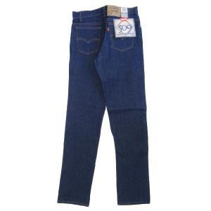 Deadstock Levi's 509 /リーバイス 509 真っ紺 Made in U.S.A W32 L35.5  古着 mellow feeling-mellow