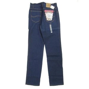 Deadstock LEE 200 STRETCH JEANS/リー 200 ストレッチデニム 真っ紺 Made in U.S.A W28 L33.5 デニムパンツジーンズSTRAIGHT SEAT 古着 mellow|feeling-mellow