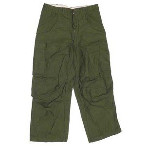 Deadstock 70's 米軍 U.S.ARMY M-65 カーゴパンツ オリーブ W31 サイズ:SMALL-SHORT|feeling-mellow
