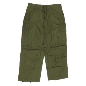 Deadstock 70's 米軍 U.S.ARMY M-65 カーゴパンツ オリーブ W31.5  サイズ:SMALL-SHORT|feeling-mellow