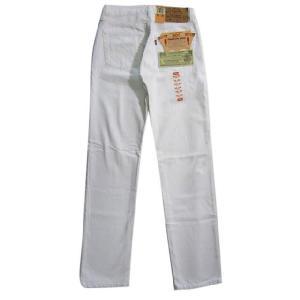 90's Deadstock Levi's/リーバイス 501 ホワイト デニムパンツ Made in U.S.A W30 L35  古着 mellow|feeling-mellow