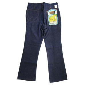 Deadstock Wrangler/ラングラー 945DEN BOOT CUT デニムパンツ Made in U.S.AW31 L30ブーツカットREGULAR FITブロークンデニム 古着 mellow|feeling-mellow