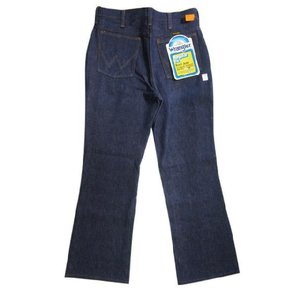 Deadstock Wrangler/ラングラー 945DEN BOOT CUT デニムパンツ Made in U.S.AW30.5 L30ブーツカットREGULAR FITブロークンデニム 古着 mellow feeling-mellow