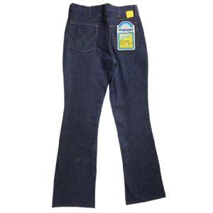 Deadstock Wrangler/ラングラー 945DEN BOOT CUT デニムパンツ Made in U.S.AW30 L34ブーツカットREGULAR FITブロークンデニム 古着 mellow feeling-mellow