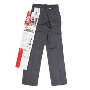 Deadstock Dickies/ディッキーズ ワークパンツ チャコールグレー Made in U.S.A W28 L31.5アメカジ 古着 mellow feeling-mellow