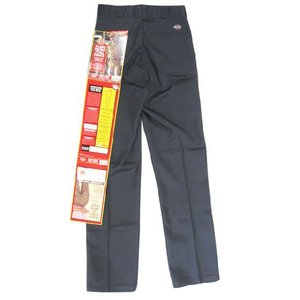 Deadstock Dickies/ディッキーズ ワークパンツ 濃いグレー Made in U.S.A W28.5 L33.5アメカジ 古着 mellow feeling-mellow