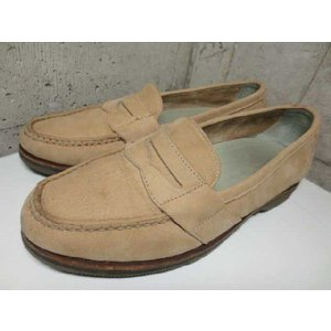 DRESSPORTS by Rockport ヌバックレザー ペニーローファー ベージュ系 Made in U.S.A  US 8 M|feeling-mellow