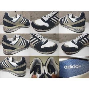 adidas ZXZ ADV/アディダス ZXZ ADV ヌバック×レザー スニーカー 紺×白×グレー|feeling-mellow|03