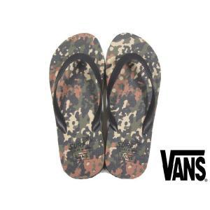 【新品】VANS Surf Sider LANAI Beach Sandal Camo/バンズ カモフラ柄 ビーチサンダル 【26.5cm〜27cm】|feeling-mellow