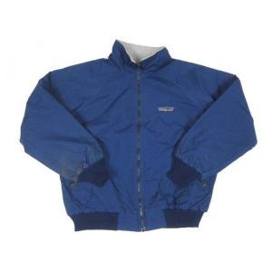 patagonia/パタゴニア シェルジャケット ナイロン×フリース ネイビー 【サイズ:L】|feeling-mellow