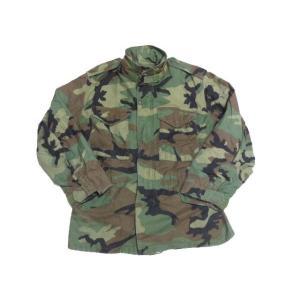 U.S.ARMY M-65 ウッドランドカモ フィールドジャケット 【SMALL SHORT】|feeling-mellow
