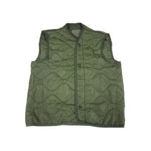 【Deadstock】02年製 US Military フィールドジャケット用 ライナーベスト セージグリーン feeling-mellow