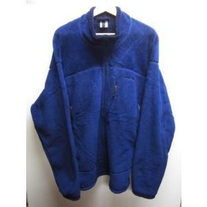 patagonia/パタゴニア レギュレーターR4 ジップアップ フリース ジャケット 青系 Made in U.S.A|feeling-mellow