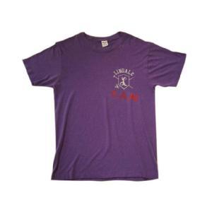 中古80's Champion/チャンピオン トリコタグ Tシャツ パープル Made in U.S.A _東北 _関東 _甲信越 _|feeling-mellow